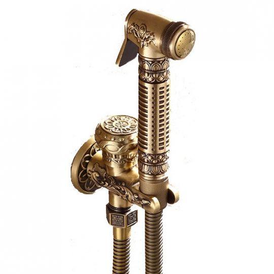 Душ лейка для хамама, бани, сауны Antique Brass Q225